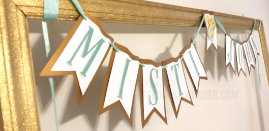 Personalized Bunting!